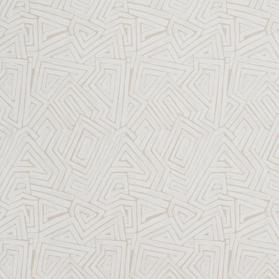 S1548 Maze Fabric: S12, WHITE GEOMETRIC, NEUTRAL GEOMETRIC, WHITE AND NEUTRAL, WHITE AND NEUTRAL PRINT, CONTEMPORARY PRINT, CONTEMPORARY GEOMETRIC PRINT, MAZE, ANNA ELISABETH, BORDEAUX, CATHEDRAL SAINT-ANDRE, LINEN PRINT,