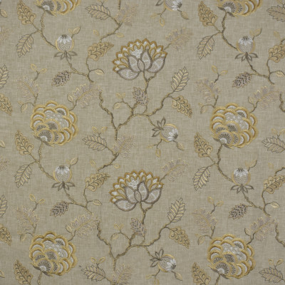 S1555 Wheat Fabric: S12, TAN FLORAL, FLORAL EMBROIDERY, TAN EMBROIDERY, NEUTRAL WOVEN, TAN WOVEN, TEXTURE, NEUTRAL TEXTURE, NEUTRAL FLORAL, NEUTRAL EMBROIDERY, TRADITIONAL EMBROIDERY, TRADITIONAL, WHEAT, FLAX, LINEN, ANNA ELISABETH, BORDEAUX, CATHEDRAL SAINT-ANDRE