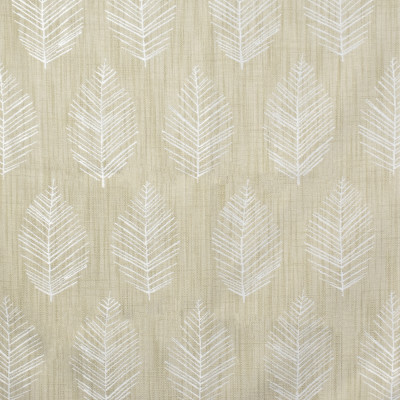 S1559 Linen Fabric: S12, WOVEN, CONTEMPORARY WOVEN, LEAF, WOVEN LEAF, LEAVES, NEUTRAL LEAVES, NEUTRAL WOVEN LEAVES, NEUTRAL AND WHITE, TAN AND WHITE, FLORAL LEAVES, ANNA ELISABETH, BORDEAUX, CATHEDRAL SAINT-ANDRE