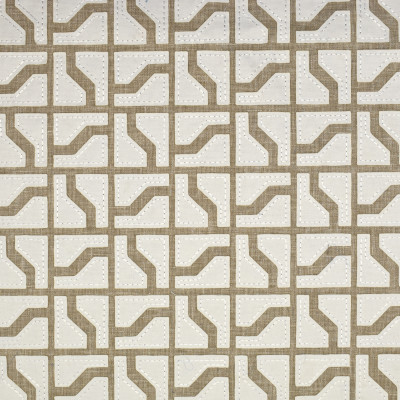 S1565 Flax Fabric: S12, ANNA ELISABETH, CATHEDRAL SAINT-ANDRE, BORDEAUX, NEUTRAL, CREAM, NEUTRAL GEOMETRIC, CREAM GEOMETRIC, NEUTRAL CONTEMPORARY, FLAX, FLAX EMBROIDERY, NEUTRAL EMBROIDERY, GEOMETRIC EMBROIDERY, CREAM EMBROIDERY, CREAM CONTEMPORARY, BEIGE