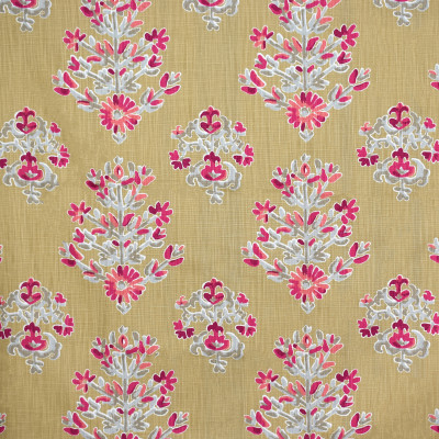 S1581 Berry Fabric: S12, ANNA ELISABETH, CATHEDRAL SAINT-ANDRE, BORDEAUX, FLORAL, PRINT, FLORAL PRINT, BROWN, NEUTRAL, NEUTRAL FLORAL, BROWN FLORAL, NEUTRAL PRINT, BROWN PRINT, BERRY, RED FLORAL, BERRY FLORAL, WOVEN