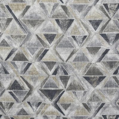 S1625 Travertine Fabric: S13, GRAY GEOMETRIC PRINT, GRAY AND TAUPE GEOMETRIC PRINT, GEOMETRIC PRINT, GRAY DIAMOND GEOMETRIC, BORDEAUX, ANNA ELISABETH