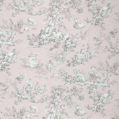 S1681 Dusty Rose Fabric: S14,DUSTY ROSE TOILE, DUSTY ROSE PRINT, BLUSH TOILE, BLUSH PRINT, PINK TOILE, PINK PRINT, ROSE TOILE, BORDEAUX, ANNA ELISABETH