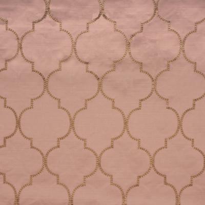 S1690 Blush Fabric: S14, BLUSH QUATREFOIL, ROSE QUATREFOIL, SATEEN QUATREFOIL,  BORDEAUX, ANNA ELISABETH