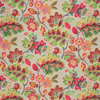 S1705 Summer Fabric: S14, PINK FLORAL, PINK AND GREEN FLORAL, PEACH FLORAL, CORAL FLORAL, FLORAL COTTON PRINT, FLORAL PRINT, COTTON PRINT, BORDEAUX, ANNA ELISABETH