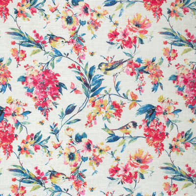 S1706 Blueberry Fabric: S14, RASPBERRY FLORAL PRINT,WATERMELON FLORAL PRINT, CORAL FLORAL PRINT, PINK FLORAL PRINT, ROSE FLORAL PRINT, COTTON FLORAL PRINT, BIRD FLORAL PRINT, BIRD PRINT, BORDEAUX, ANNA ELISABETH, BIRDS