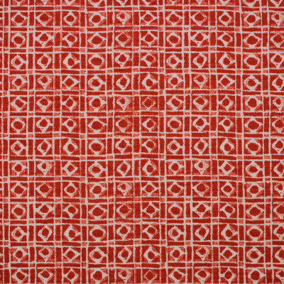 S1710 Tomato Fabric: S14, CORAL GEOMETRIC PRINT, RED GEOMETRIC PRINT, TOMATO GEOMETRIC PRINT, WATERMELON GEOMETRIC PRINT, GEORMETRIC PRINT, COTTON GEOMETRIC PRINT, BORDEAUX, ANNA ELISABETH