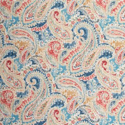 S1714 Multi Fabric: S14, MUILT COLOR PAISLEY, RED PAISLEY, BLUE PAISLEY, RED FLORAL PRINT, PAISLEY PRINT, COTTON PRINT, BORDEAUX, ANNA ELISABETH