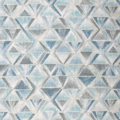 S1730 Hazy Fabric: S15, ANNA ELISABETH, BORDEAUX, CONTEMPORARY, GEOMETRIC, GEOMETRIC PRINT, AQUA PRINT