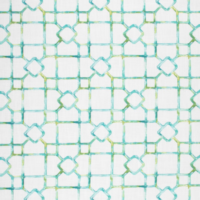 S1737 Lagoon Fabric: S15, GEOMETRIC, WATERCOLOR, PRINT, LINEN LOOK, FAUX LINEN, CONTEMPORARY, GREEN, ANNA ELISABETH, BORDEAUX