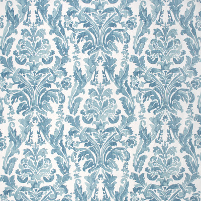 S1770 Blueridge Fabric: S15, PRINT, TEAL, MEDALLION, SCROLL, ANNA ELISABETH, BORDEAUX