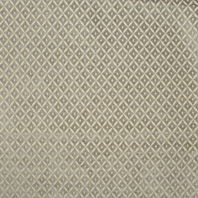 S1802 Pewter Fabric: S16, CHAIR SCALE DIAMOND, DIAMOND CHENILLE, DIAMOND GEOMETRIC, DOT, NEUTRAL CHENILLE, NEUTRAL DIAMOND, GRAY, GREY, ANNA ELISABETH