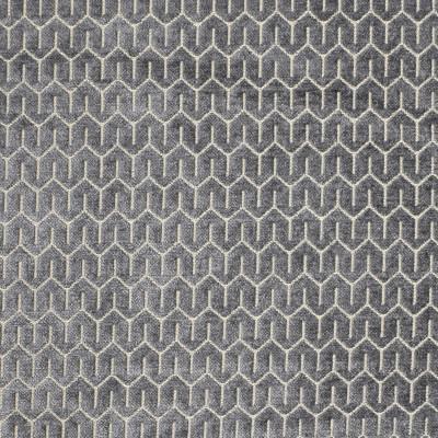 S1811 Ash Fabric: S16, GRAY GEOMETRIC, GREY GEOMETRIC, GRAY CHENILLE, GREY CHENILLE, GEOMETRIC, GEOMETRIC CHENILLE, ANNA ELISABETH