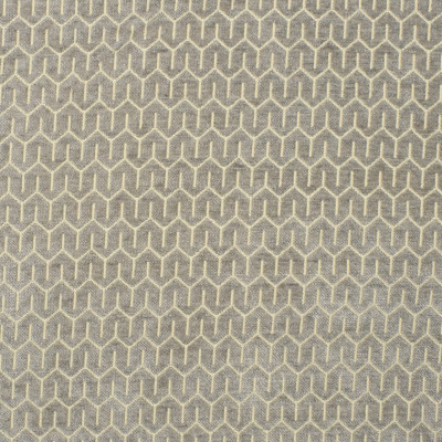 S1815 Pewter Fabric: S16, GEOMETRIC, GEOMETRIC CHENILLE, CHENILLE GEOMETRIC, CHENILLE PATTERN, LIGHT GRAY, ANNA ELISABETH