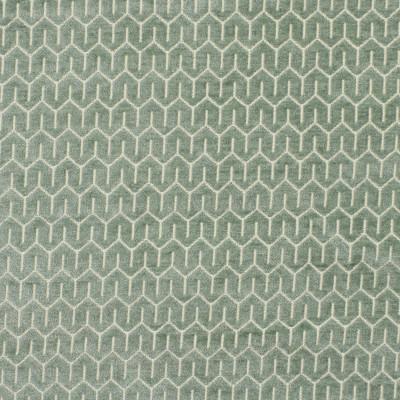 S1817 Spa Fabric: S16, SPA GREEN, SPA BLUE, SEAFOAM, GEOMETRIC CHENILLE, CHENILLE PATTERN, CHENILLE, ANNA ELISABETH, SMALL-SCALE CHENILLE