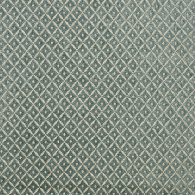 S1819 Bottle Glass Fabric: S16, DIAMOND, GEOMETRIC, DIAMOND GEOMETRIC, SPA BLUE, TEAL, SEAFOAM, ANNA ELISABETH, SMALL SCALE DIAMOND