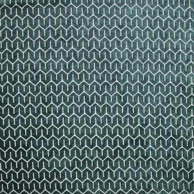 S1821 Kale Fabric: S16, DARK GREEN, HUNTER GREEN, EMERALD GREEN, GEOMETRIC PATTERN, CHENILLE, GEOMETRIC CHENILLE, CHAIR-SCALE CHENILLE