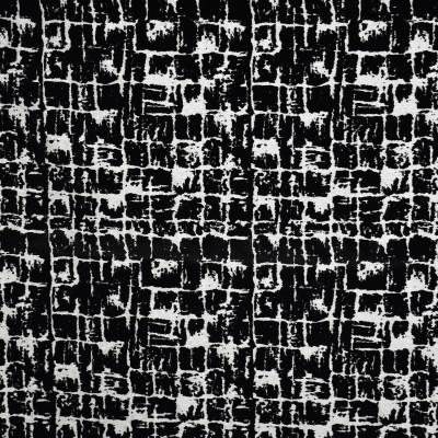 S1830 Domino Fabric: S17, ANNA ELISABETH, BLACK CUT VELVET, CONTEMPORARY VELVET, TEXTURED VELVET, BLACK TEXTURE, CUT VELVET