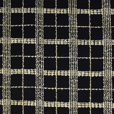 S1849 Domino Fabric: S17, ANNA ELISABETH, WOVEN BLACK PLAID, WOVEN BLACK CHECK, BLACK CHECK, BLACK PLAID