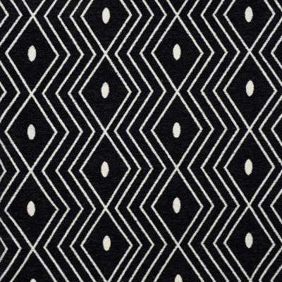 S1865 Ebony Fabric: S17, ANNA ELISABETH, BLACK DIAMOND, BLACK CHENILLE, BLACK DIAMOND CHENILLE