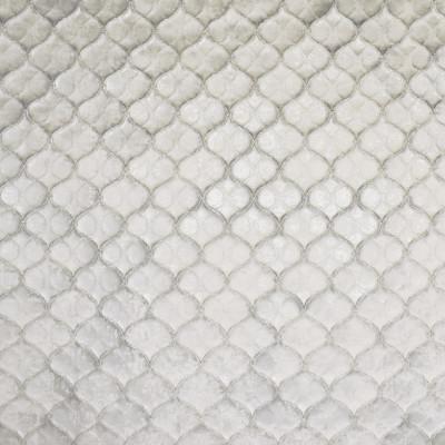 S1871 Pearl Fabric: S28, ANNA ELISABETH, FOIL, SILVER METALLIC, METALLIC SATIN, SATIN TEXTURE, METALLIC MEDALLION, TEXTURE MEDALLION, SATIN MEDALLION, WHITE SATIN, WINDOW, DRAPERY