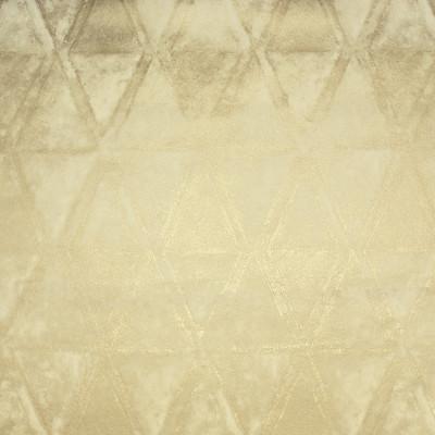 S1889 Golden Fabric: S28, ANNA ELISABETH, METALLIC PRINT, GEOMETRIC PRINT, GOLD PRINT, PRINTED VELVET, NEUTRAL GEOMETRIC, NEUTRAL METALLIC PRINT, FOIL