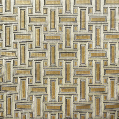 S1895 Bronze Fabric: S28, ANNA ELISABETH, CUT VELVET, METALLIC VELVET, GEOMETRIC CUT VELVET, GEOMETRIC VELVET, BRONZE, NEUTRAL VELVET, BROWN VELVET, NEUTRAL CUT VELVET, BROWN CUT VELVET