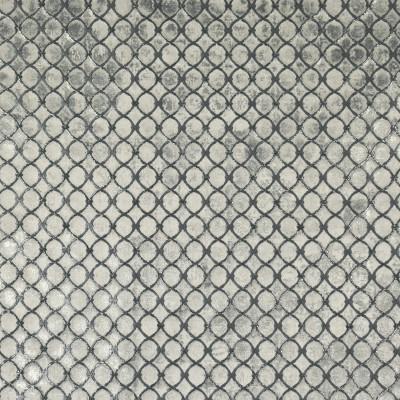 S1906 Gunmetal Fabric: S28, ANNA ELISABETH, FOIL, GRAY METALLIC, METALLIC SATIN, SATIN TEXTURE, METALLIC MEDALLION, TEXTURE MEDALLION, SATIN MEDALLION, GUNMETAL, NFPA260, NFPA 260, WINDOW, DRAPERY