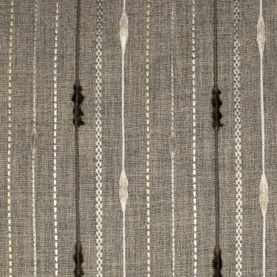 S1924 Mocha Fabric: S19, ANNA ELISABETH, EMBROIDERY, STRIPE EMBROIDERY, CONTEMPORARY STRIPE, CONTEMPORARY EMBROIDERY, TEXTURED EMBROIDERY, TEXTURED STRIPE, NEUTRAL STRIPE EMBROIDERY