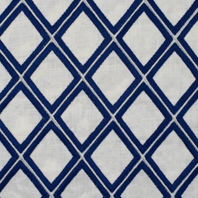 S1933 Cobalt Fabric: S19, ANNA ELISABETH, DIAMOND EMBROIDERY, GEOMETRIC EMBROIDERY, TEXTURED EMBROIDERY, BLUE EMBROIDERY, EMBROIDERY, COBALT BLUE