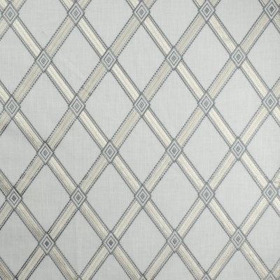 S1934 Nickel Fabric: S19, ANNA ELISABETH, EMBROIDERY, DIAMOND EMBROIDERY, GEOMETRIC EMBROIDERY, LATTICE EMBROIDERY, NEUTRAL EMBROIDERY, GRAY EMBROIDERY