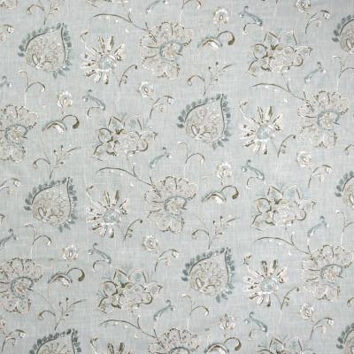 S1954 Aquarius Fabric: S19, ANNA ELISABETH, FLORAL EMBROIDERY, BLUE FLORAL EMBROIDERY, BLUE EMBROIDERY, TEAL FLORAL EMBROIDERY, TEAL EMBROIDERY