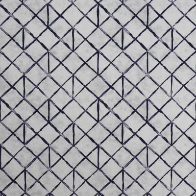 S1976 Arctic Fabric: S20, ANNA ELISABETH, PRINT, CONTEMPORARY PRINT, GEOMETRIC PRINT, DIAMOND PRINT, NAVY BLUE PRINT, COTTON PRINT, 100% COTTON