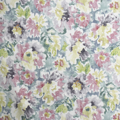 S1997 Flower Box Fabric: S20, ANNA ELISABETH, PRINT, FLORAL PRINT, WATERCOLOR PRINT, WATERCOLOR FLORAL, PINK FLORAL, GREEN PRINT, PURPLE FLORAL, COTTON PRINT, 100% COTTON