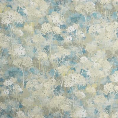 S2001 Seastone Fabric: S20, ANNA ELISABETH, PRINT, FOLIAGE PRINT, BLUE PRINT, AQUA PRINT, COTTON PRINT, 100% COTTON