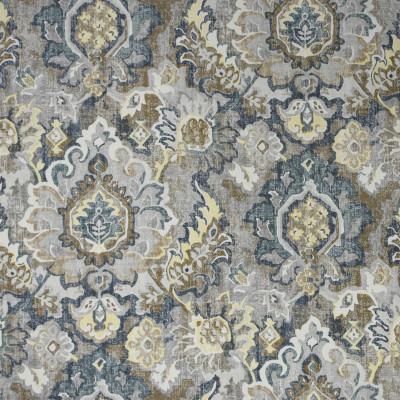 S2003 Soapstone Fabric: S20, ANNA ELISABETH, PRINT, MEDALLION PRINT, BLUE PRINT, TEAL PRINT, GRAY PRINT, GREY PRINT, COTTON PRINT, 100% COTTON