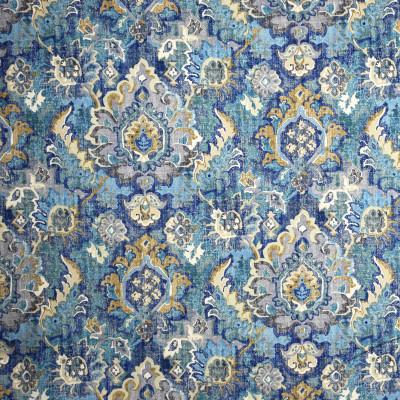 S2005 Ocean Floor Fabric: S20, ANNA ELISABETH, PRINT, MEDALLION PRINT, BLUE PRINT, TEAL PRINT, COTTON PRINT, 100% COTTON