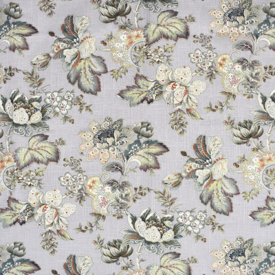 S2015 Silverpine Fabric: S20, ANNA ELISABETH, PRINT, FLORAL PRINT, METALLIC PRINT, METALLIC FLORAL, TEAL PRINT, ORANGE PRINT, PURPLE PRINT