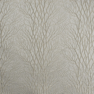 S2034 Bronze Fabric: S21, SHIMMER, METALLIC, EMBROIDERY, TREES, BRANCHES, DRAPERY, TONE ON TONE, GOLD, NEUTRAL, TAUPE, ANNA ELISABETH