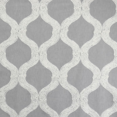 S2047 Dove Fabric: S21, GRAY, EMBROIDERY, BOUCLE, TEXTURE, GEOMETRIC, ANNA ELISABETH