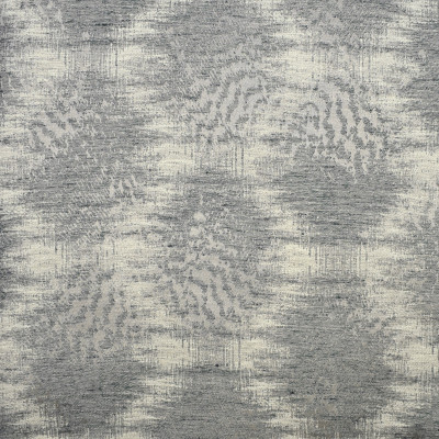 S2049 Pewter Fabric: S21, GRAY, CONTEMPORARY, MEDALLION, ABSTRACT, ANNA ELISABETH, WOVEN