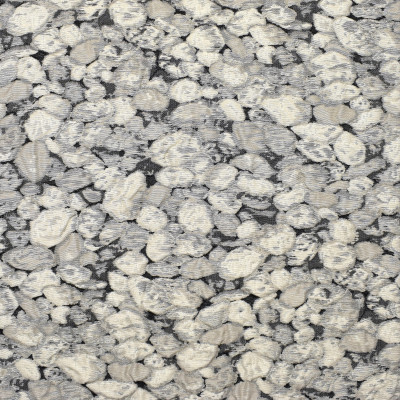 S2052 Charcoal Fabric: S21, GRAY, ROCK PATTERN, ANNA ELISABETH, QUILTED, ANNA ELISABETH, TEXTURE, STONES, ROCK, PEBBLE, PEBBLES, ROCKS, NATURE, OUTDOORS