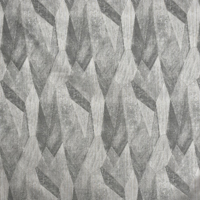 S2054 Gunmetal Fabric: S21, ANNA ELISABETH, GRAY, TAUPE, NEUTRAL, ABSTRACT, CONTEMPORARY, GEOMETRIC, ETHNIC