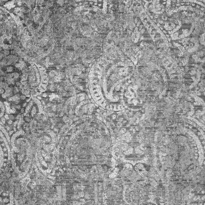 S2055 Smoke Fabric: S21, ANNA ELISABETH, GRAY, TAUPE, SCROLL, MEDALLION
