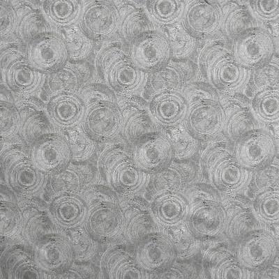 S2060 Granite Fabric: S21, CONTEMPORARY, ANNA ELISABETH, GRAY, SWIRL, CIRCLE, WOVEN