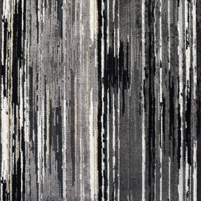 S2061 Midnight Fabric: S21, ANNA ELISABETH, GRAY, CHENILLE TEXTURE, TEXTURE, STRIE, STRIPE, WOVEN