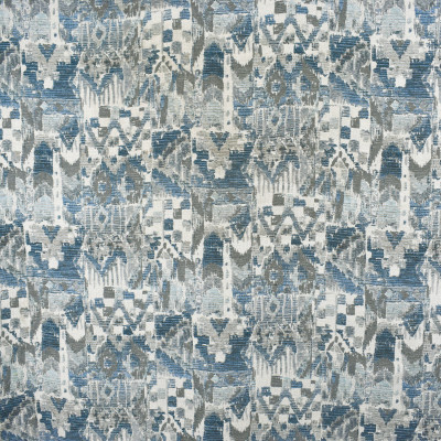 S2098 Pacific Fabric: S22, ANNA ELISABETH, ANNA, ELISABETH, WOVEN, BLUE, BLUE WOVEN, NEUTRAL, NEUTRAL WOVEN, CONTEMPORARY, GEOMETRIC, PATTERN, FUNKY PATTERN, ABSTRACT, GEOMETRIC