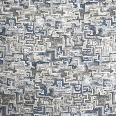 S2100 Cobalt Fabric: S22, ANNA ELISABETH, ANNA, ELISABETH, WOVEN, BLUE, BLUE WOVEN, CONTEMPORARY, GEOMETRIC, NEUTRAL, NEUTRAL WOVEN, EARTHY, WOVEN TEXTURE
