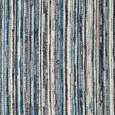 S2204 Lagoon Fabric: S24, MULTI-COLORED STRIPE, OUTDOOR STRIPE, OUTDOOR FABRIC, INSIDE OUT, STRIPE, TEXTURED STRIPE, BLUE, TEAL, ANNA ELISABETH, PERFORMANCE, INSIDEOUT
