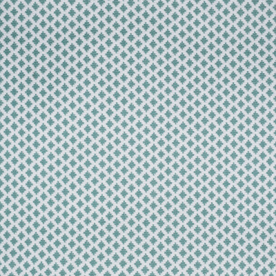 S2205 Surf Fabric: S24, TEAL DIAMOND, DOT, SMALL-SCALE, TEAL AND WHITE, INSIDE OUT, PERFORMANCE, ANNA ELISABETH, OUTDOOR FABRIC, INSIDEOUT, BLEACH CLEANABLE